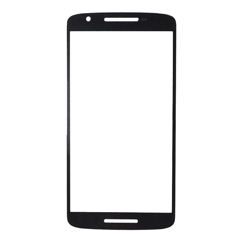 """imágenes para 10 Unids/lote Blanco Negro para Motorola Moto X Juego Vidrio Delantero 5.5 """"Pantalla Táctil Exterior de la Lente Panel de Reemplazo de la Reparación parte"""