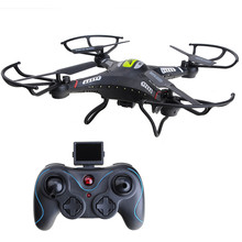 JJRC H8CH 2.4G 4CH 6-axis Gyro RC Drone With 2.0MP HD Camera RTF RC Quadcopter with 3D-flip Set-height Drone Quadcopter RTF