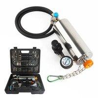 GX100 Авто Injector Cleaner номера демонтаж Авто впрыска топлива Стиральная инструмент автомобиля Топливная форсунка тестер очистки дроссельной зас