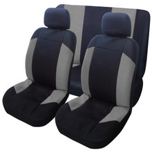 цены Universal Car Seat Cushion Covers Polyester Seat Back Covers Auto Polyester Material Styling Interior Seat Accessories