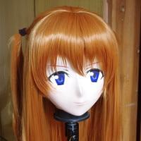 (C2 026) Japan Anime Kigurumi Masks Cosplay Kigurumi Cartoon Character Role Play Full Head Face Cute Mask