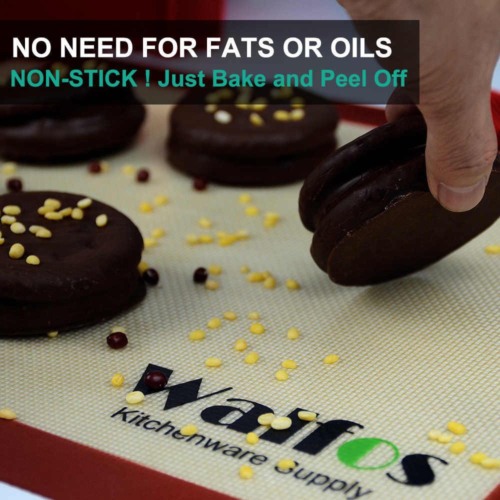 WALFOS силиконовый коврик для выпечки коврик для мучных изделий коврик для раскатки теста печь для макаронов вкладыш для печенья противень антипригарный коврик для выпечки