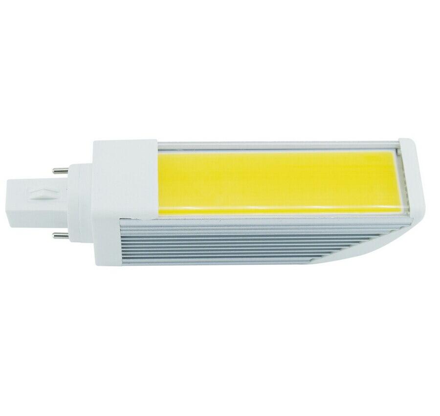 Новые E27 <font><b>G24</b></font> <font><b>COB</b></font> 15 Вт светодиодные холодный белый/теплый белый Горизонтальное Подключите лампа AC85-265V Бесплатная доставка