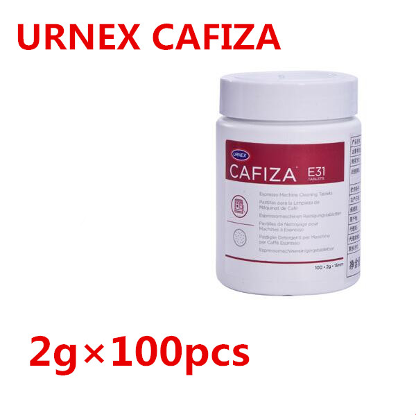 лучшая цена 1 bottle (100 pieces) New Urnex Cafiza Espresso Machine Cleaning Tablets, Pack of 100 x 2g