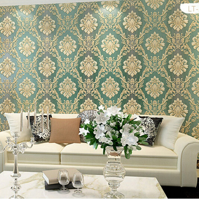 ФОТО Beibehang European Beibehang wallpaper wallpaper 3d dimensional relief thick luxurious bedroom living room TV backdrop