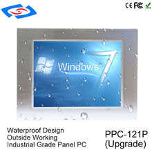 High Performance Intel Celeron J1900 Industrial Panel PC With Touchscreen Interface To Run Win Linux OS