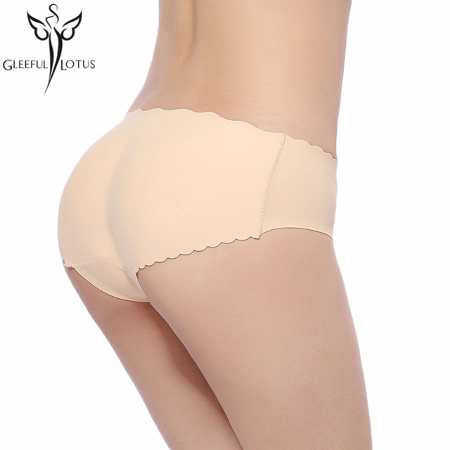 Padded seamless hip butt enhancer panties butt lifting panty body shaper bodies woman sexy fajas postparto