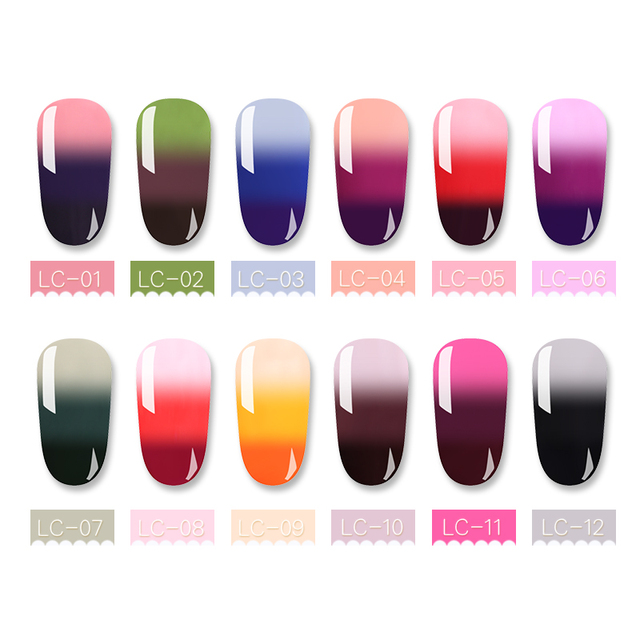 LILYCUTE 7ml Temperature Changing Color UV Gel