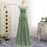Dressgirl Backless 2017 Prom Dresses Mermaid Mint Green Chiffon Flowers Elegant Long Prom Gown Evening Dresses