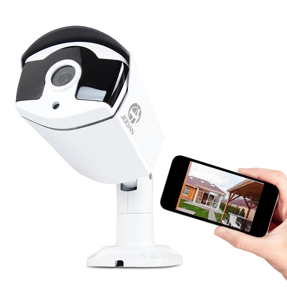 JOOAN H.265 Security IP Camera POE 4MP Outdoor Waterproof IP66 CCTV Camera P2P video surveillance home security ONVIF 48V PoE