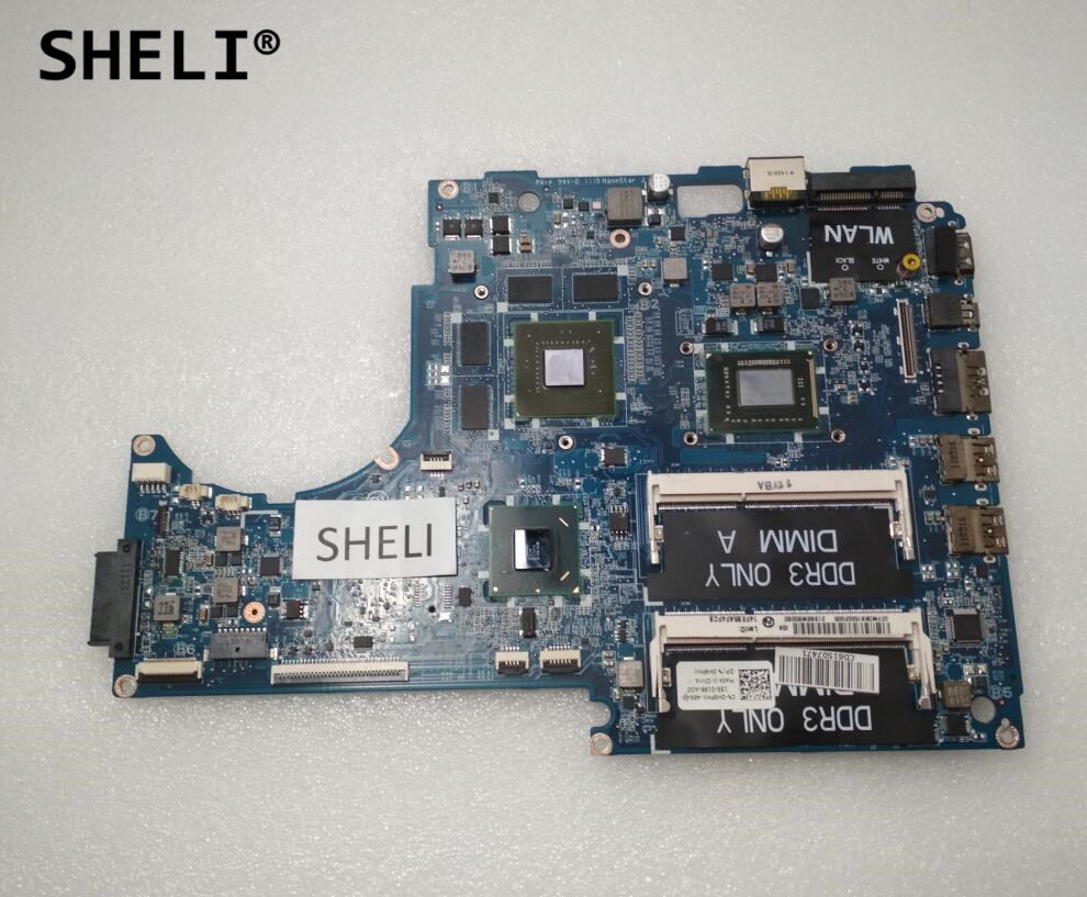 SHELI CN-0H9FHV 0H9FHV H9FHV For Dell 15z L511z Motherboard with <font><b>I5</b></font>-<font><b>2410M</b></font> DASS8BMBAE1 image