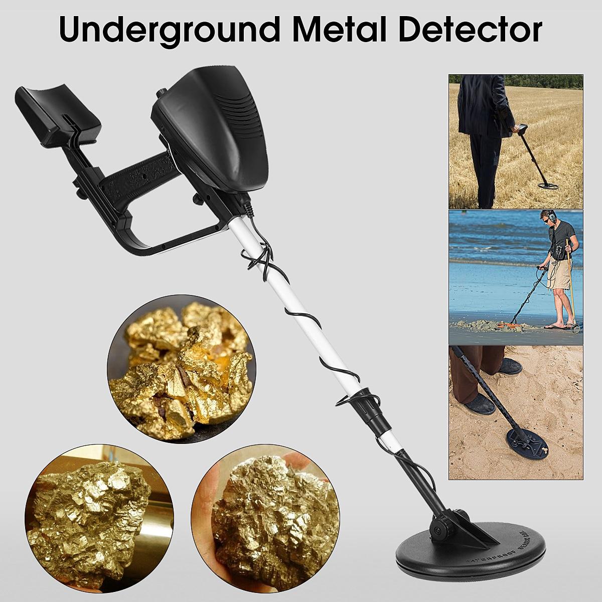 MD4030 Portable étanche souterrain réglable pièces or détecteur de métaux Digger trésor chasseur métal Circuit trésor Digger