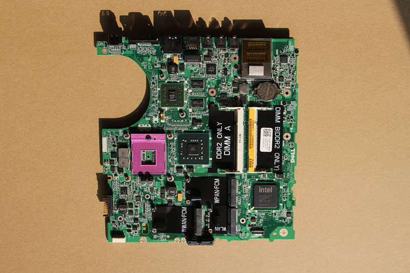 CN 0P171H 0P171H P171H For DELL 1537 Laptop motherboard DA0FM7MB8D0 with 216 0707011 GPU Onboard DDR2
