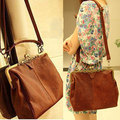 Vintage Women Small Shoulder Bags Open Hobos Crossbody Bags Lady's Handbag