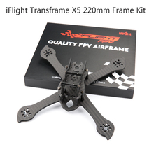 iFlight Transframe X5 220mm Full 3K Carbon Fiber Support Foxeer HS1177 FPV Camera 5 inches Propeller for FPV Racing Quadcopter