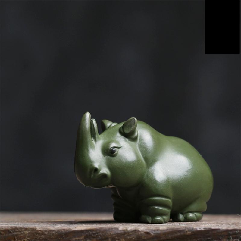 Чистый ручной фиолетовый песок реки лошадь чай животным орнаментом Бутик Исин чай животным орнаментом