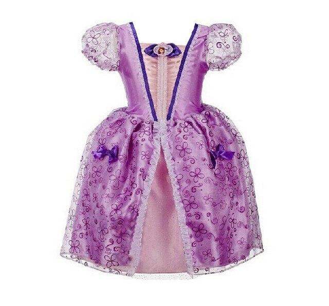 9a98a5ea6 Top quality princess sofia dresses sofia the first costume for ...