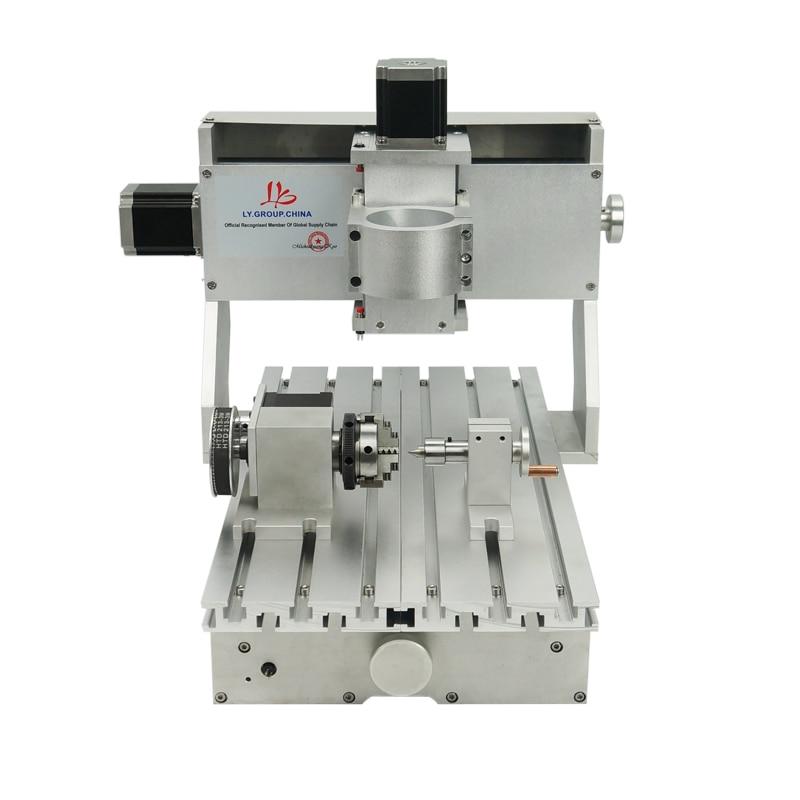 4 axes 3020 CNC Machine de gravure en aluminium cadre Kit 3020 CNC routeur 1605 vis à billes
