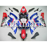 ABS Motorcycle Cowling For 2006 2007 Yamaha YZF 600 R6 2006 2007 Bodywork High Quality Injection R6 Fairings Blue White Red 96