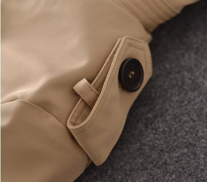 À Taille Chaude Long Printemps Tranchée Grande Nouvelle Femmes kaki Mince Mode Boutonnage Haute rouge S Manteau Double 6xl 2019 Noir Moyen gBqwPxz