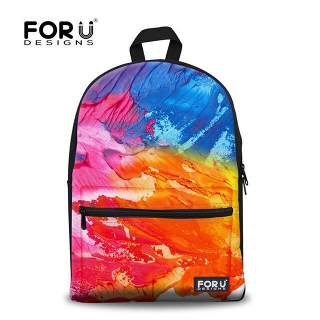 Unique Children Backpacks Designer Kids Graffiti Backpacks Casual ...