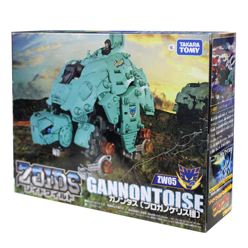 TAKARA TOMY ZOIDS ZW05 Figura de Ação Mecânica Tartaruga Animais Ranger Megazord Transformação Robô Brinquedos Para Crianças Presentes