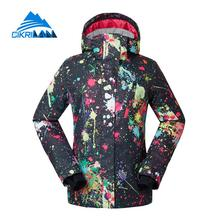 New Women s Winter Outdoor Waterproof Windproof Breathable Skiing Snowboarding Padded Jacket Ladies Overcoat Snow Jackct