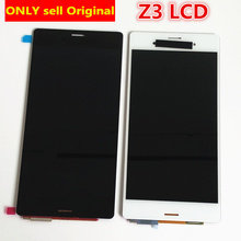 5.2'' Black white For SONY Xperia Z3 LCD Display Touch Screen D6603 D6653 Replacement for SONY Xperia Z3 LCD Dual D6633 D6683 lruiize 100% test white lcd display screen for sony xperia z3 d6603 d6643 d6653 d6633 touch digitizer assembly tools frame