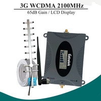 LCD Display WCDMA 2100Mhz Mobile Phone Cellular Signal Booster 3G UMTS 2100 Signal Repeater Cell Phone