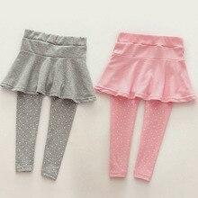 6Colors Toddler Cozy Pantskirt Girl Wool Culotte Kids Child Legging Trousers