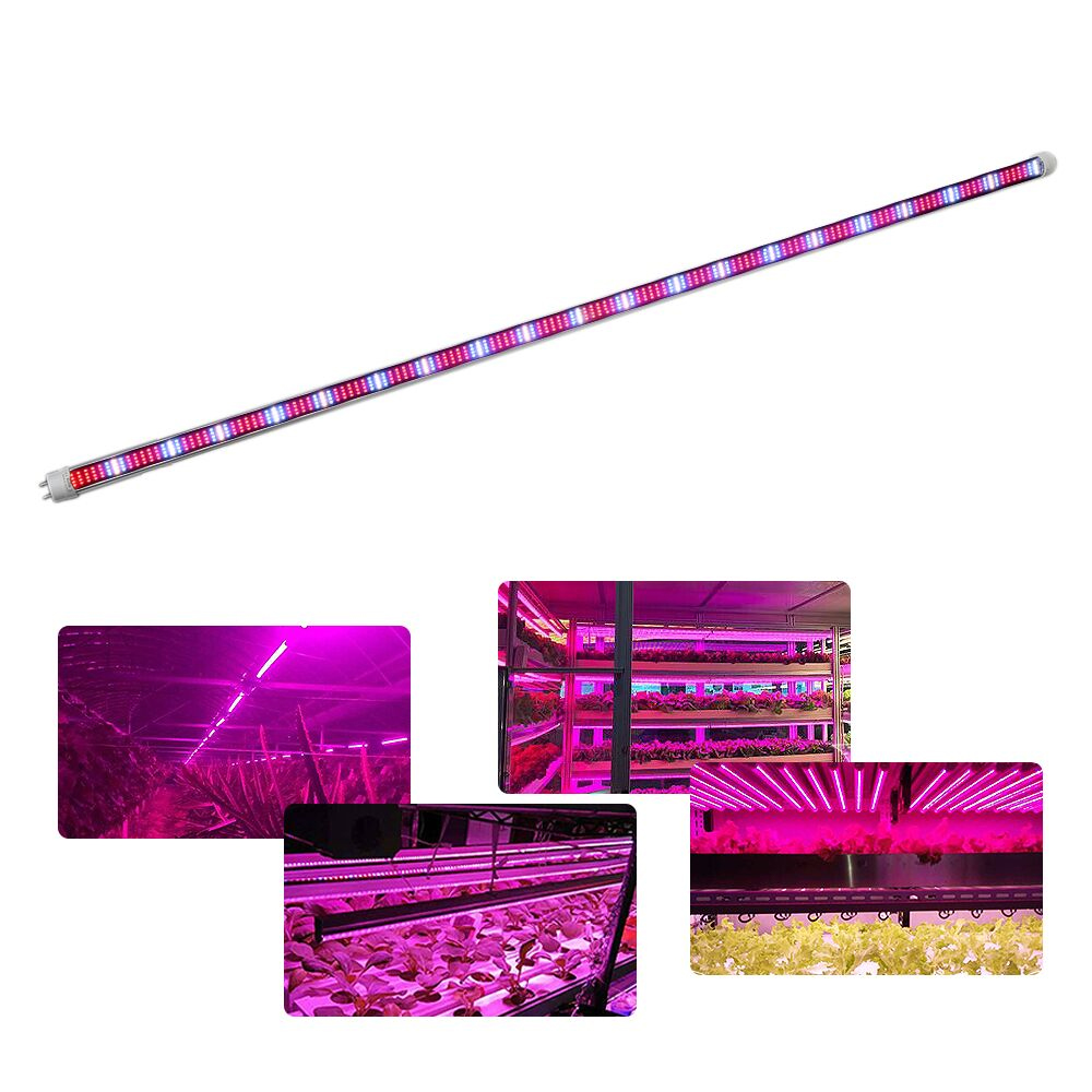 (5pcs/lot) 60W Led grow light bar T8 Tube for indoor greenhouse plants vegetable flowers hydroponic system grow light strip