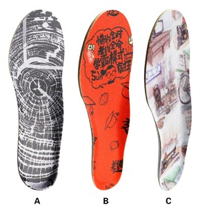 Image 5 - 3ANGNI 1 Pair Antibacterial Deodorization Ortholite Arch Support Free Size Sport Insoles For Man Woman shoes Insert Pad With SGS