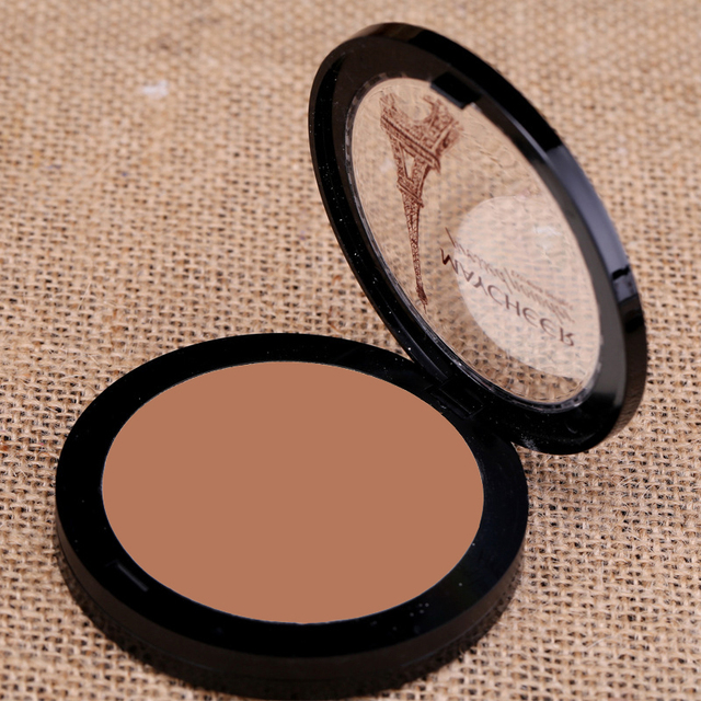 Dark Skin Cosmetic Bronzer Blush Makeup Brightener Matte Minerals Whiten Highlighting Face Powder Bronzer Contouring Makeup 3
