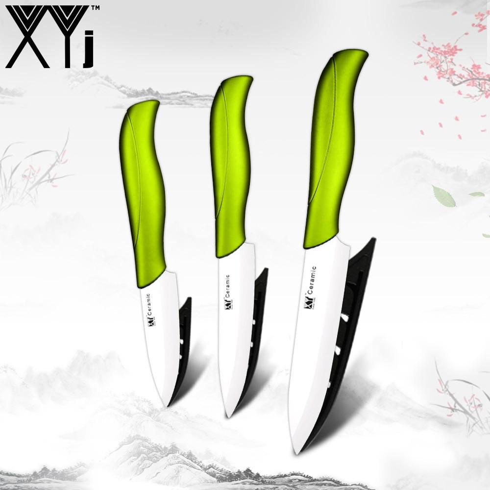 XYj Kitchen Ceramic Knife Set Tool 3
