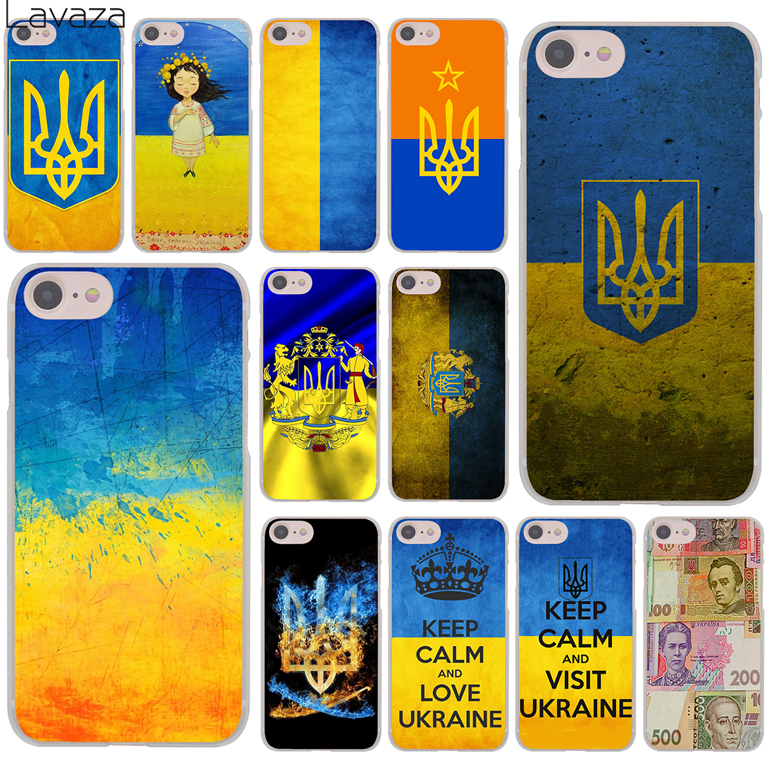 d1596863c88a8f Lavaza keep calm and visit ukraine Of Flag Hard Cover Case for iPhone X XS  Max XR 6 6S 7 8 Plus 5 5S SE 5C 4S 10 Phone Cases