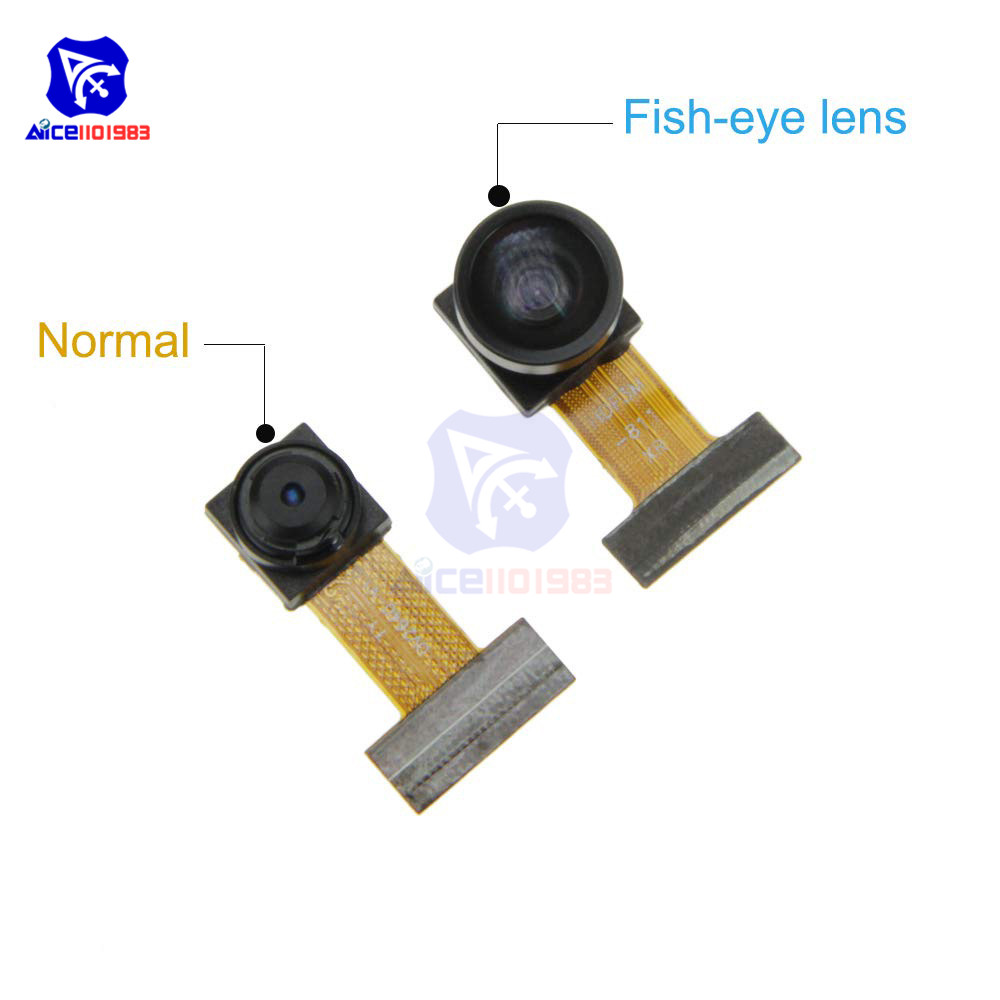 ESP32-Cam Wireless Module OV2640 Normal/Fish Eye Lens Camera SMA WiFi 3Dbi Antenna 0.91