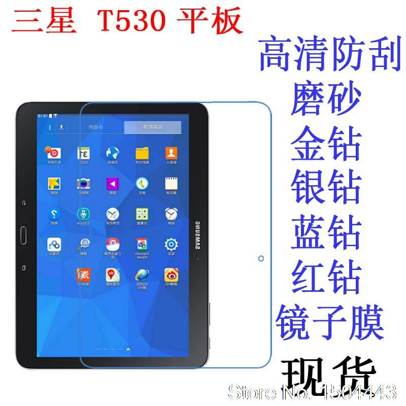 For Samsung Galaxy Tab4 10.1 T530 T530 T531 10.1 Tablet Pc High Clear Soft Anti-fingerprint Screen Film Protector Unequal In Performance Tablet Accessories