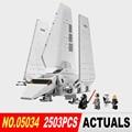 LEPIN 05034 Serie Star El Imperial Shuttle Montado Bloques de Construcción Ladrillos Juguetes Compatible con 10212 Regalos