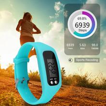 Sports Women Men Smart Digital Bracelet Watch Arcrylic Fitness LED Wristband Watch Pedometer Electronic Clock Reloj Saati Montre