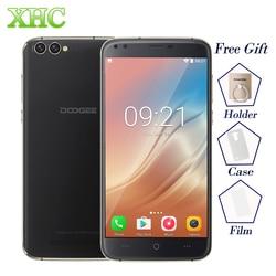 DOOGEE X30 Android 7.0 Smartphone 5.5'' 4 Cameras MTK6580A Quad Core Cellphone 2GB RAM 16GB ROM Dual SIM WCDMA OTA Mobile Phone
