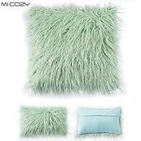 Pluszowe Obicia na poduszki Sofa Poduszka Lędźwiowa Pokrywa Home Decoration Faux Fur Poduszka Case, Wielu Rozmiarach