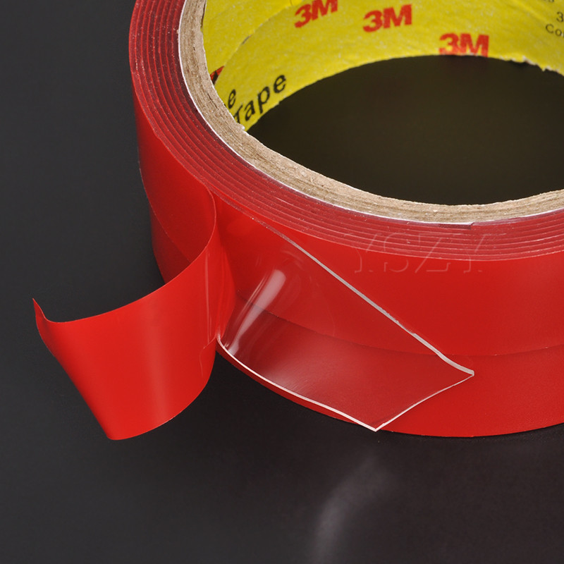 3M 4,6,10,12,20MM Vehicle Double Sided Sticker Car Adhesive Acrylic Foam Tape T0