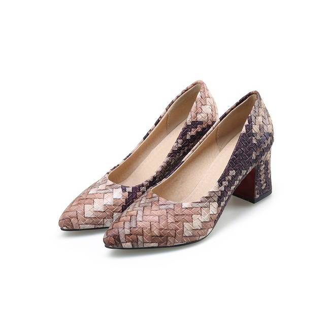 Women Shallow Pointed Toe Shoe