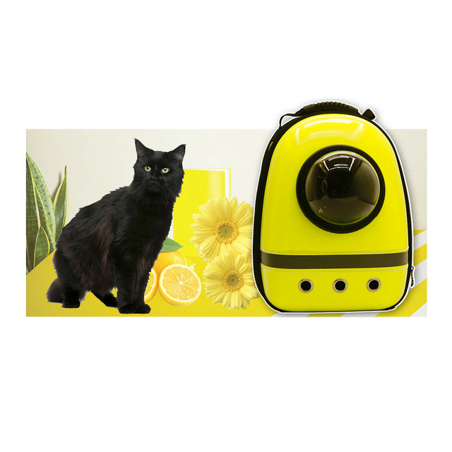 Astronaut Pet Cat Dog Puppy Carrier Travel Bag Space Capsule Backpack Breathable 2