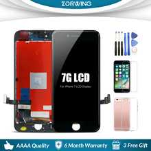 4.7 inch Front LCD Screen For iPhone 6s 7 8 LCD Display Digitizer Touch Screen Replacement Assembly For iPhone 7 8 Plus replacement new lcd display touch screen assembly for huawei mediapad t2 7 0 lte bgo dl09 black 7 inch
