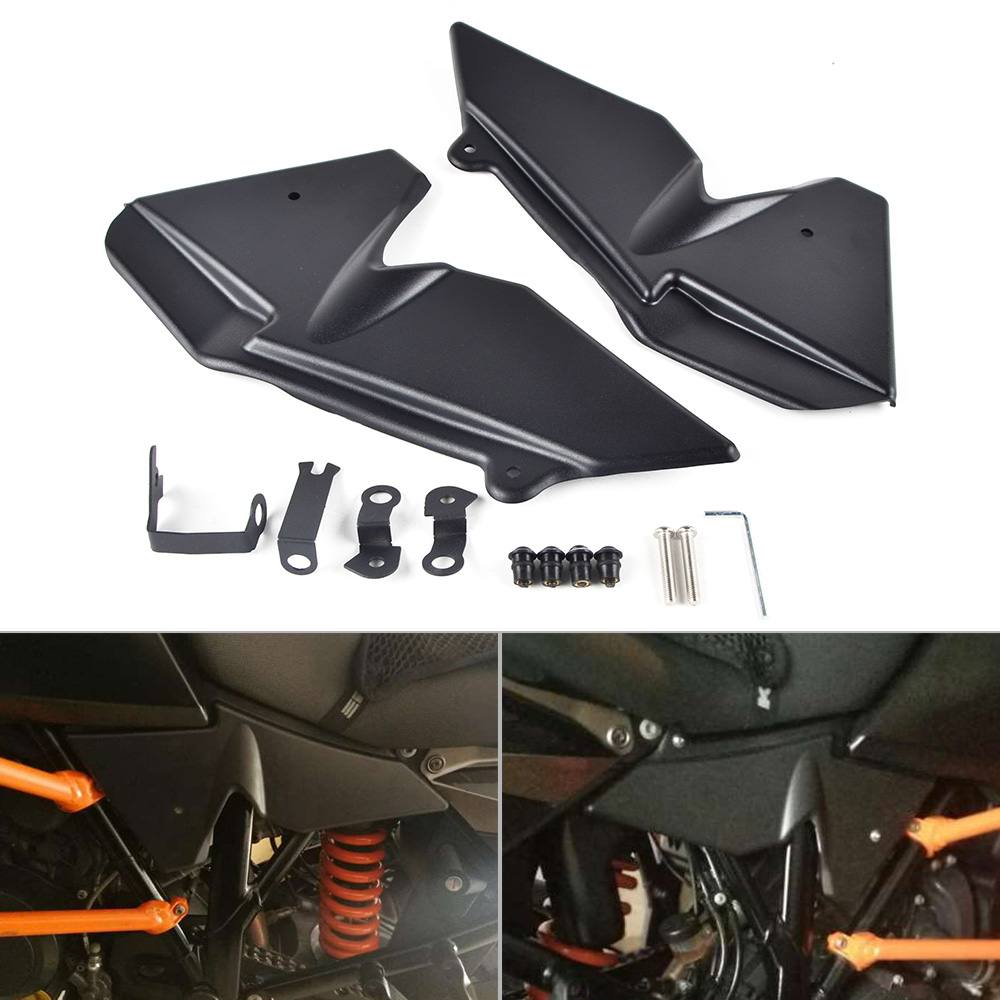 Motorcycle Radiator Side Cover Panel Guard Protector For KTM 1050 1090 Adventure 1290 Super Adventure 2015 2016Motorcycle Radiator Side Cover Panel Guard Protector For KTM 1050 1090 Adventure 1290 Super Adventure 2015 2016