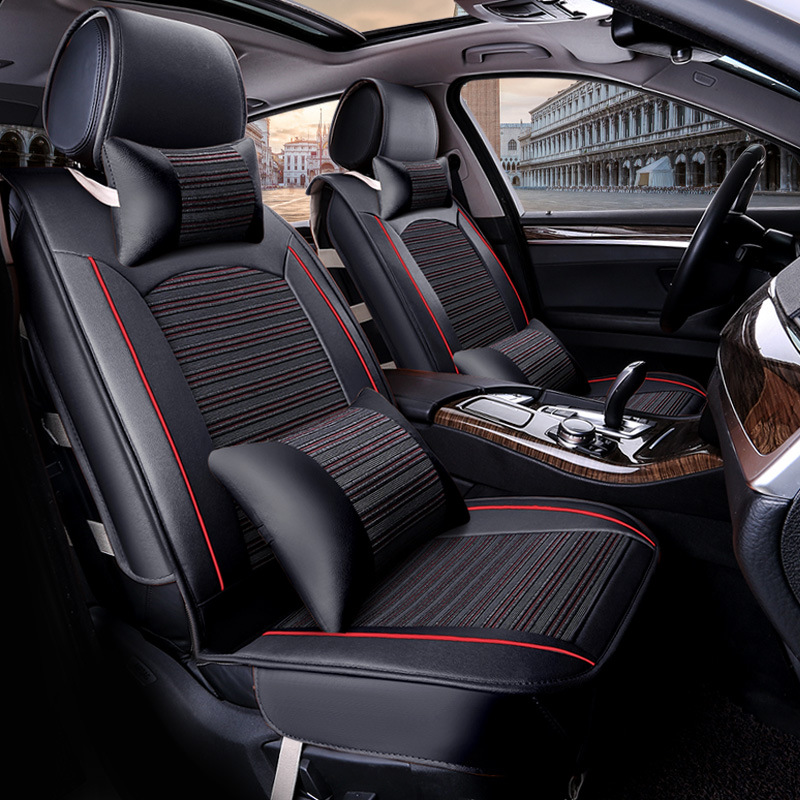 buy car seat cover for citroen c4 grand picasso pu leather car seats auto. Black Bedroom Furniture Sets. Home Design Ideas