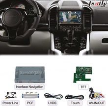 Car Multimedia Android Navigation Interface Box for Porsche-Macan-Panamera-Cayenne Touch Navigation, Audio and Video