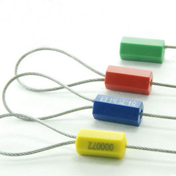 Wire Locks | 5pcs Tightening Seals Steel Wire Seals 80cm Metal Cable Ties Seal