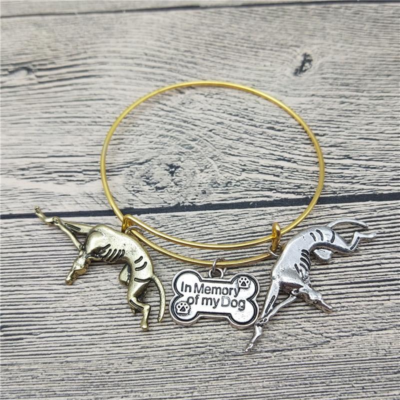 Trendy New Italian Greyhound Bangles Cute Italian Greyhound Dog Bangles Bracelets Fashion Animal Pet Jewellery